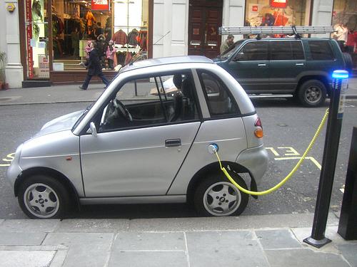 elektrische auto oplaadpunt