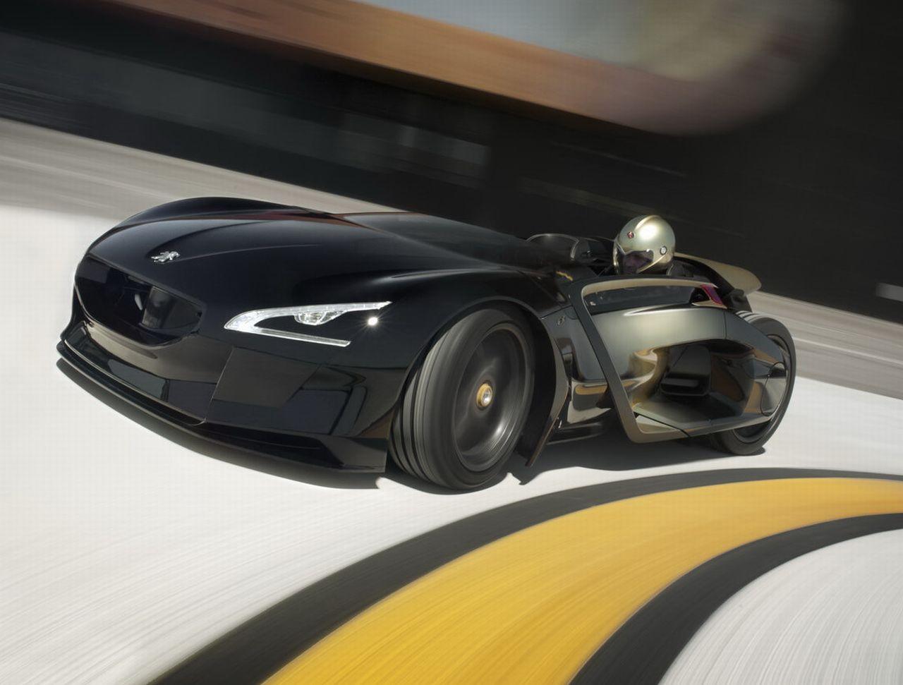 Peugeot EX1: de snelste elektrische auto